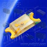 15-215-S2C-AL1M2L4Y-2T細分電壓0.5mm厚1206貼片橙色光LED