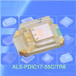 ALS-PDIC17-55C-TR8環境光敏感應管,0805貼片光敏管
