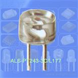 光敏管,环境光感应管,5mm圆柱形光敏二极管 ALS-PT243-3C/L177