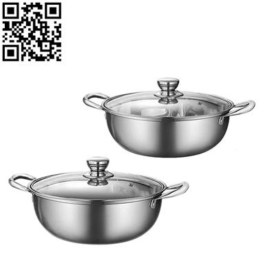 304清湯鍋/鴛鴦鍋(Hot pot)ZD-HG148
