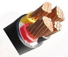 YJV-4*50+1*25电力电缆