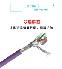 西门子网络电缆6XV1830-0EH10