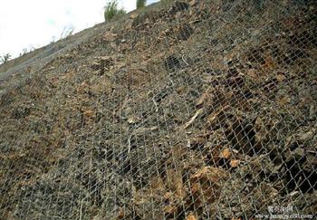 公路边坡喷浆种草镀锌喷浆网经久耐用施工规范