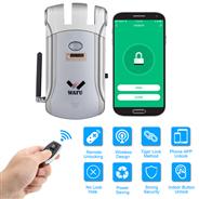 WAFU APP Remote Control Door Lock, WIFI Invisible Smart Security Door Lock(WF-008W) 315Mhz