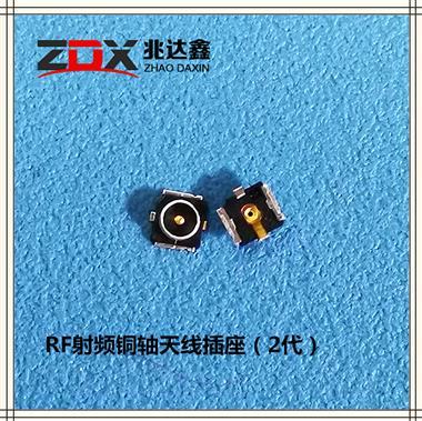 RF射�l土包�~��B接器板端天�座(2代)