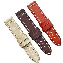 电商热卖头层通用加厚真皮表带 三和兴表带