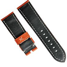 针纹彩色皮表带男女厚身表带供应小牛皮针扣表带12-26mm优质真皮表带 三和兴表带