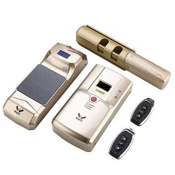 HF-011C全自动指纹密码隐形带独立第三套应急**系统