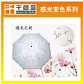 傘印花用感光變色粉色濃度高添加量小光敏變色顏料
