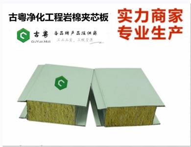 净化工程岩棉夹芯板