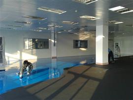 环氧防静电平凃地坪涂装