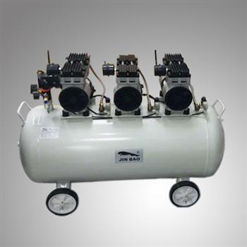 深圳劲豹2.4Kw实验室静音无油空压机