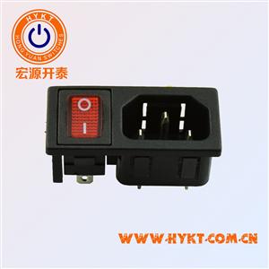宏源供应-电源插座二合一插座  插座带开关  开关电器插座
