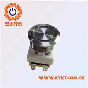 金属按钮开关新品推出-厂家直供PBM19MM带底座-控台设备专用-带灯灯色多选