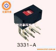 滑动开关3331-A拨动开关电压转换开关