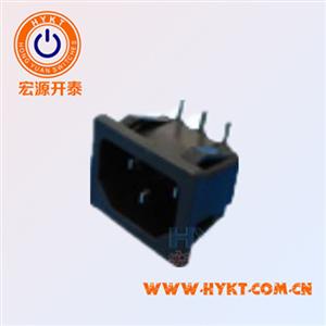 品字型弯脚S-03-11-90电源插座