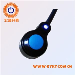 供应塑胶防水按钮开关 IP68带LED指示带线防水一体开关 水下3M