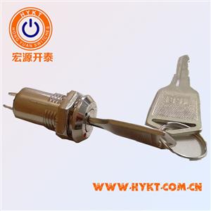 低价批发音响设备电源锁 M12锌合金电子锁 杂号一把锁配一套钥匙