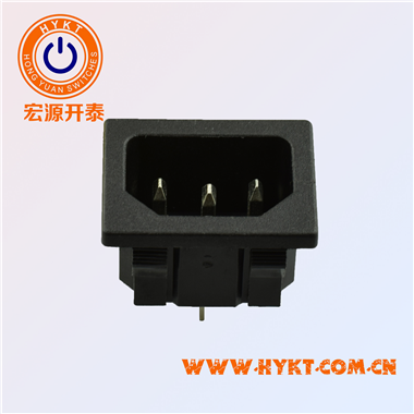 工厂直销电源插座卡式固定插座31*24MM环保S-03-12