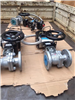 Q6S41H-16C DN100气动带手动蒸汽法兰球阀