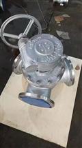 Q342Y-25P Q342Y-40P不锈钢涡轮Y型三通球阀