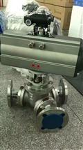 Q642W-25P Q642W-40P不锈钢气动Y型耐磨球阀