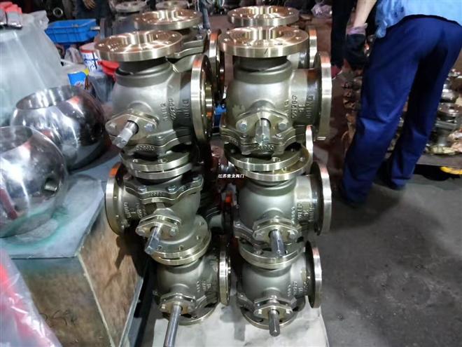 Q45F-16T Q45F-25T青铜三通球阀