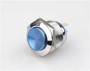 厂家低价直销金属带灯按钮开关,金属按钮开关,防爆金属按钮开关LED灯色多选