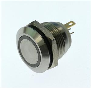 厂家新推出PBM19金属按钮开关带底座带线带灯
