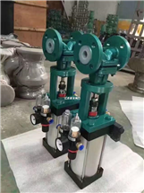 G641F46-10C DN100铸钢气动衬氟隔膜阀