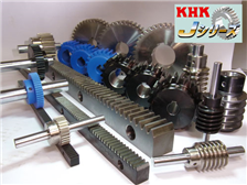 KHK标准齿轮在工业的使用实例