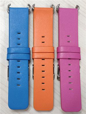 小天才同款人造PU皮表带超薄印3D图案手表带 三和兴表带