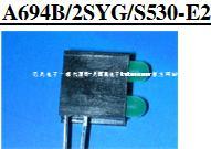 A694B/2SYG/S530-E2亿光电子组件LED
