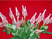 玫瑰花網套