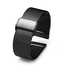 電鍍黑網帶 不銹鋼表帶 三和興表帶