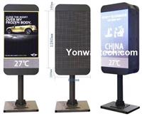 Street Light Pole/Post/Pillar & Advertising Digital Media LED Digital Signage
