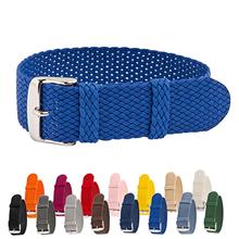 多颜色一条过贝伦表带 涤纶表带 三和兴表带 尼龙表带6