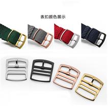 一条过表扣多种类 表带多颜色 贝伦表带 涤纶表带 三和兴表带 尼龙表带16