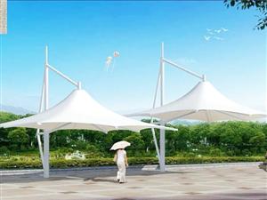 荆州宜昌随州膜结构景观看台遮雨棚
