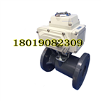 【2019】Q941F-10S UPVC电动塑料法兰雷竞技下载地址 AC220V开关型