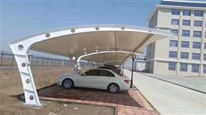 无锡苏州景观张拉膜膜结构汽车棚膜结构体育遮阳看台