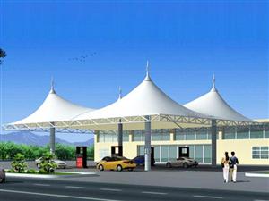 本溪辽阳鞍山膜结构加油站高速收费停车棚