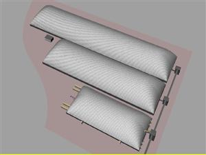 济宁泰安全封闭煤场膜结构 车棚价格 膜结构车棚工程