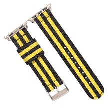 苹果连接器款涤纶表带  间色长短带款  三和兴表带DL123