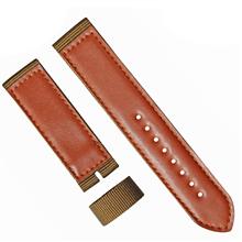 车皮革尼龙表带  单色长短带款  现有材料颜色任选  支持定制颜色  三和兴表带2
