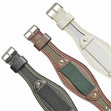 车皮革尼龙表带  特殊缝合线款式  三和兴表带1