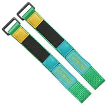 魔术贴尼龙表带  纯色一条过配方钢扣款  现在有材料颜色任选  支持定制颜色  三和兴表带2