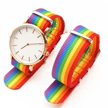 6个颜色随心配尼龙表带  搭配成表观赏效果更直观  三和兴表带DL131