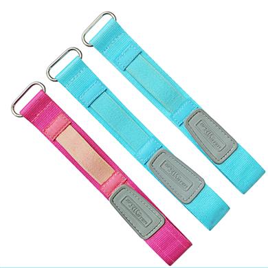 魔术贴尼龙表带  纯色一条过配旦圈款  现在有材料颜色任选  支持定制颜色  三和兴表带1