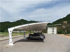 成都广元绵阳膜结构公司膜结构车棚加油站景观台设计安装